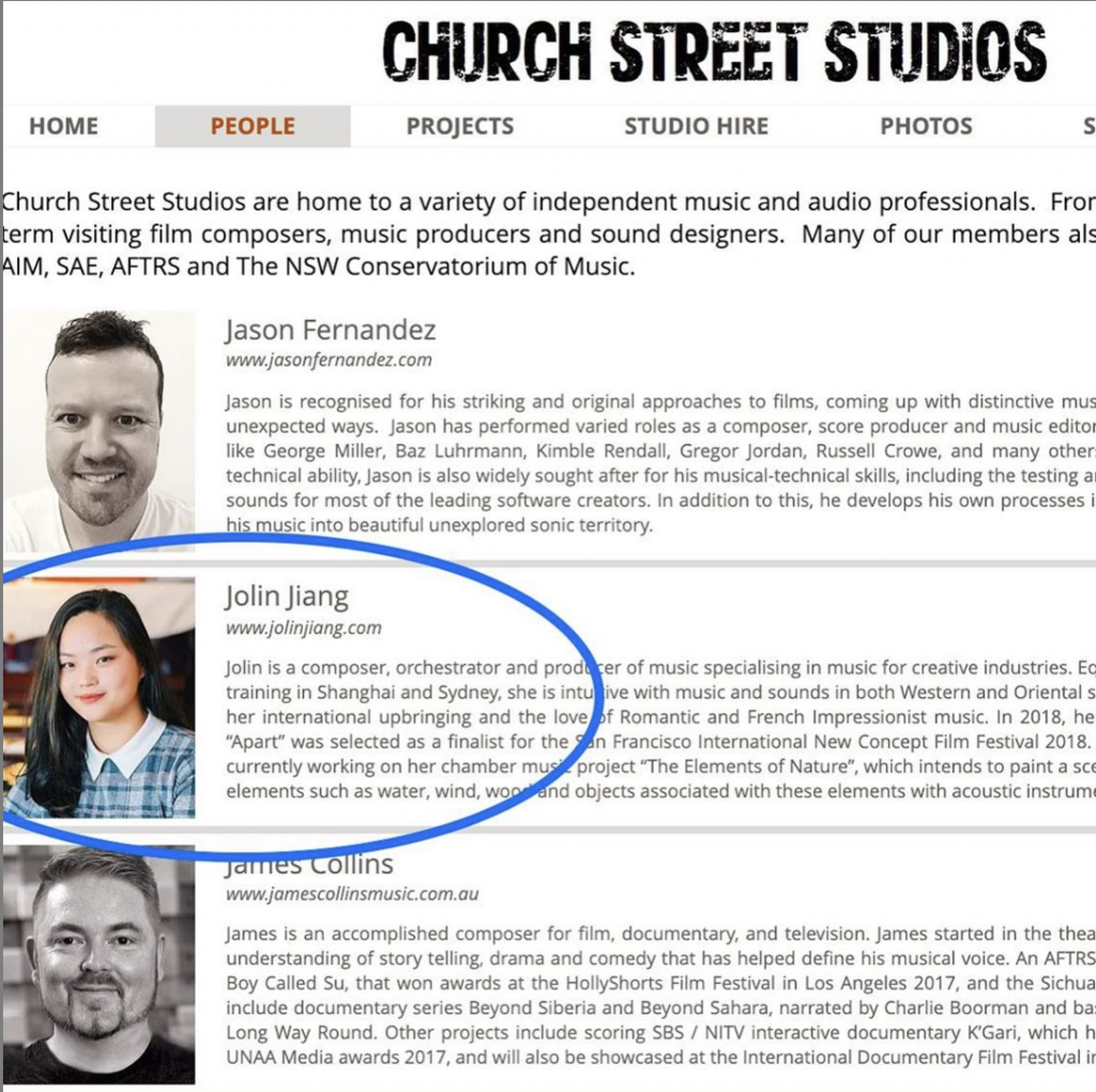 church street composers and music producers